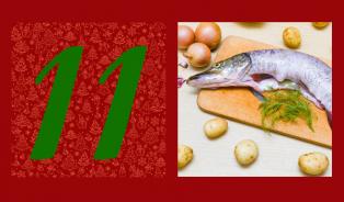 Vánoční ryba bez smažení