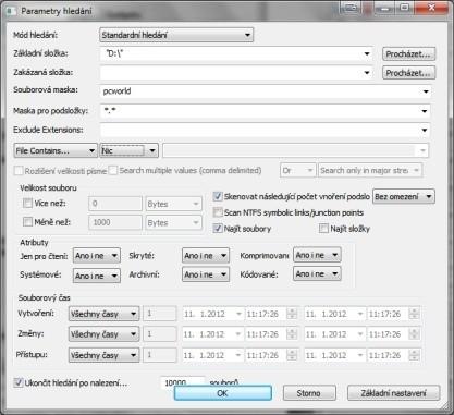 Pomocí SearchMyFiles najdete snadno a rychle soubory na svém disku
