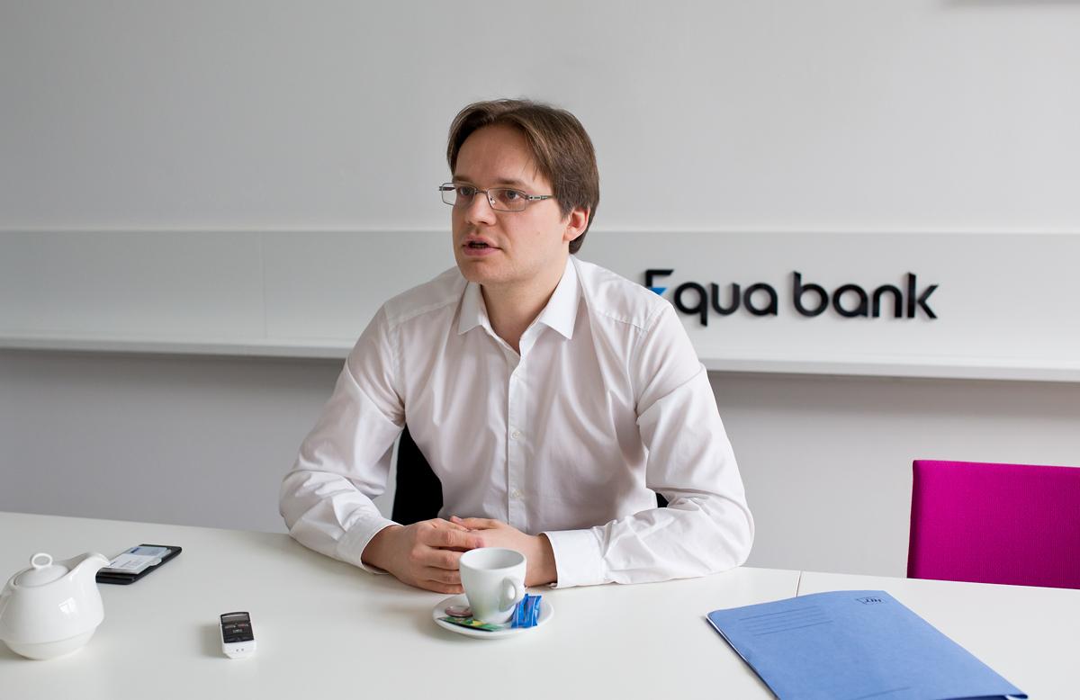 Rozhovor s Vojtěchem Záškodným z Equa bank