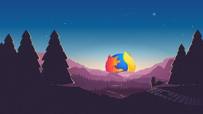 Firefox ukazuje spotřebu stránek aumí označit více panelů