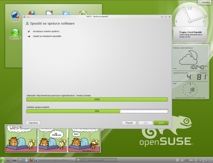 openSUSE 12.1