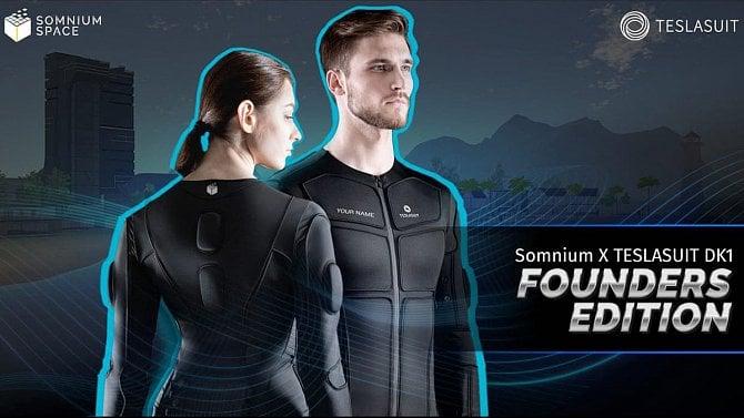 [aktualita] Český Ready Player One. Ve VR světě Somnium Space půjde používat haptický oblek
