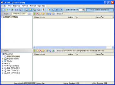 <p>Toto hlavní okno uvidíte při každém spuštění programu</p>
