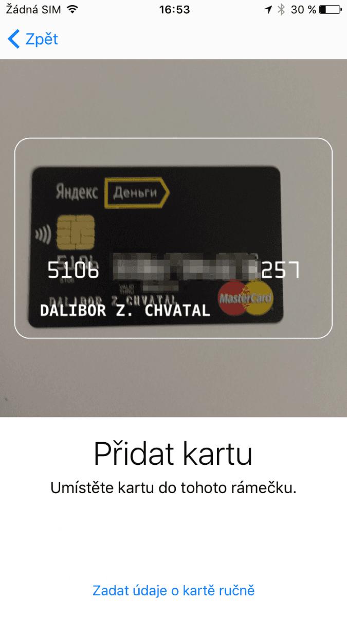 Apple Pay Yandex Money
