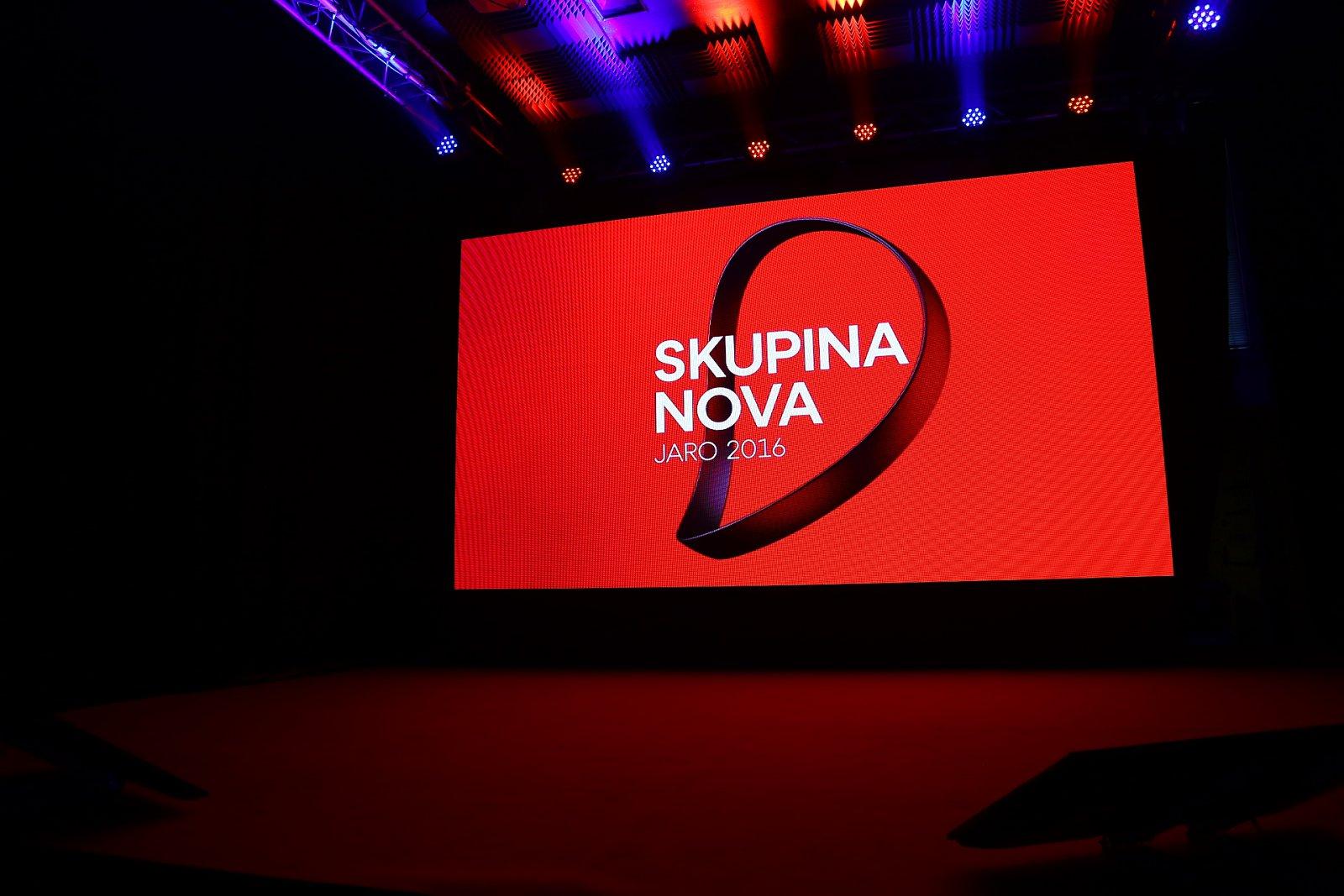 Tisková konference televize Nova - jaro 2016