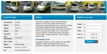 Inzerovaný VW Sharan byl po havárii a ani kilometrový nájezd nebyl autentický.