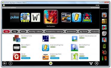Vyhledávání nových aplikací