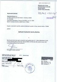 Zpětvzetí insolvenčního návrhu Guarenty Group