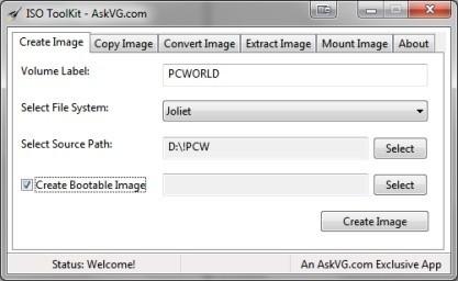 ISO ToolKit zvládá vytvářet a spravovat ISO soubory