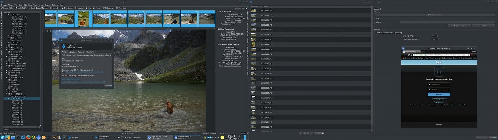 digiKam 6.0.0 beta1