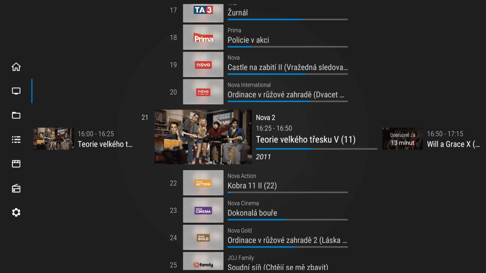 SledováníTV na Amazon Fire TV Stick