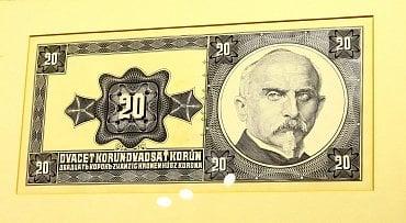 Bankovka z roku 1926 s portrétem Aloise Rašína.
