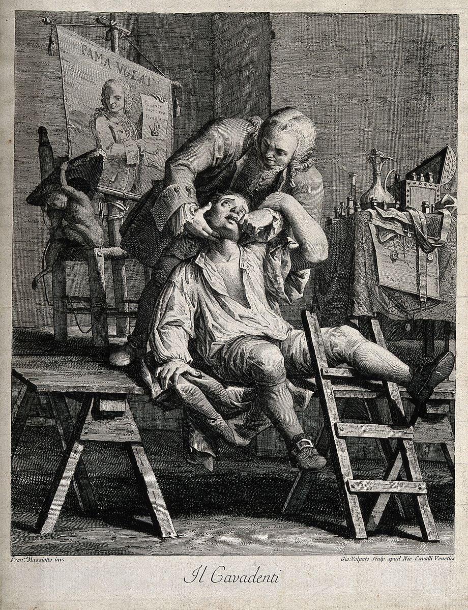 Historie stomatologie