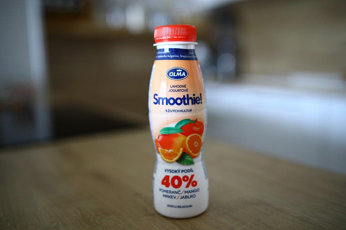 Jogurtová smoothie, sladká novinka