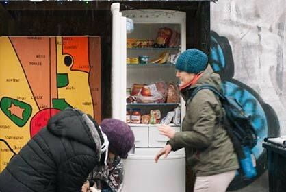 Veřejné lednice: sdílená lednice v Brně