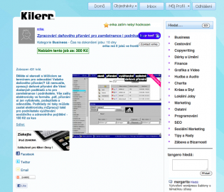 Kilerr.cz detail nabídky - grafika občas nesedí přesně na milimetr.