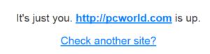 Test funkčnosti webu - chyba na straně uživatele
