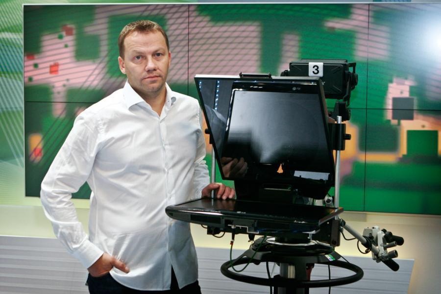 ČT Sport - nové studio, srpen 2013