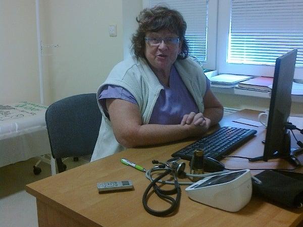 MUDr. Dagmar Kusáková ve své václavovické ordinaci