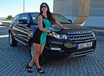 TEST Range Rover Evoque Coupé TD4– dámská jízda