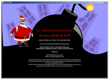 Ransomware Merry X-Mas