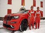 Jezdci Ferrari nafasovali Jeepy