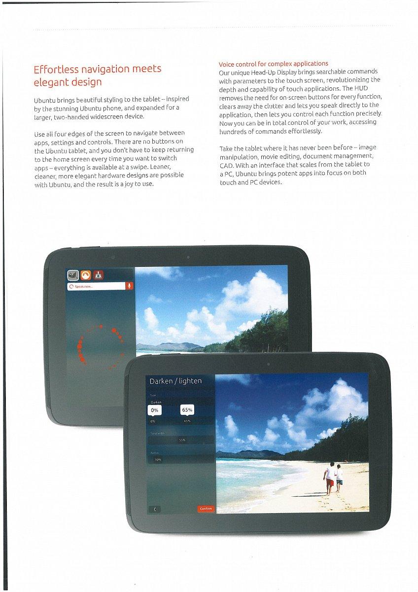 Ubuntu pro tablety a mobily