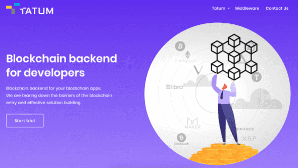 [aktualita] Český blockchainový startup Tatum od investorů získal miliony