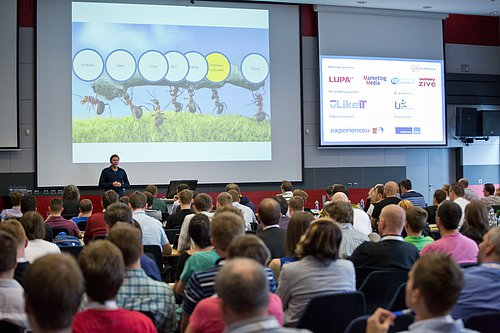 Adam Fendrych přednášel na UX konferenci v květnu 2014