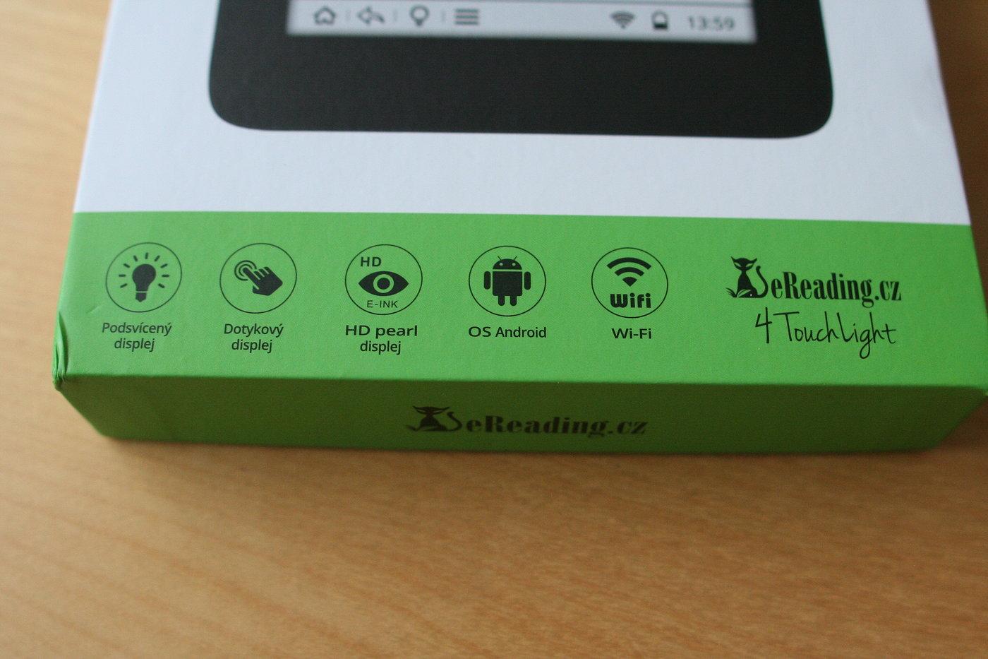 eReading.cz 4 Touch Light