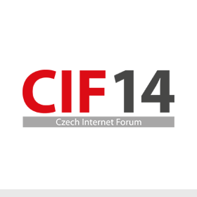 Logo Czech Internet Forum 2014