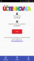 Mobilní aplikace Účtenkovky