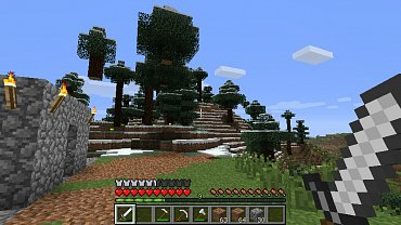 Obrázky ze hry Minecraft verze 1.3.1