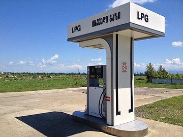 V Gruzii LPG natankujete, ale není všude.