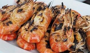 Vitalia.cz: Krevety před grilováním neloupejte