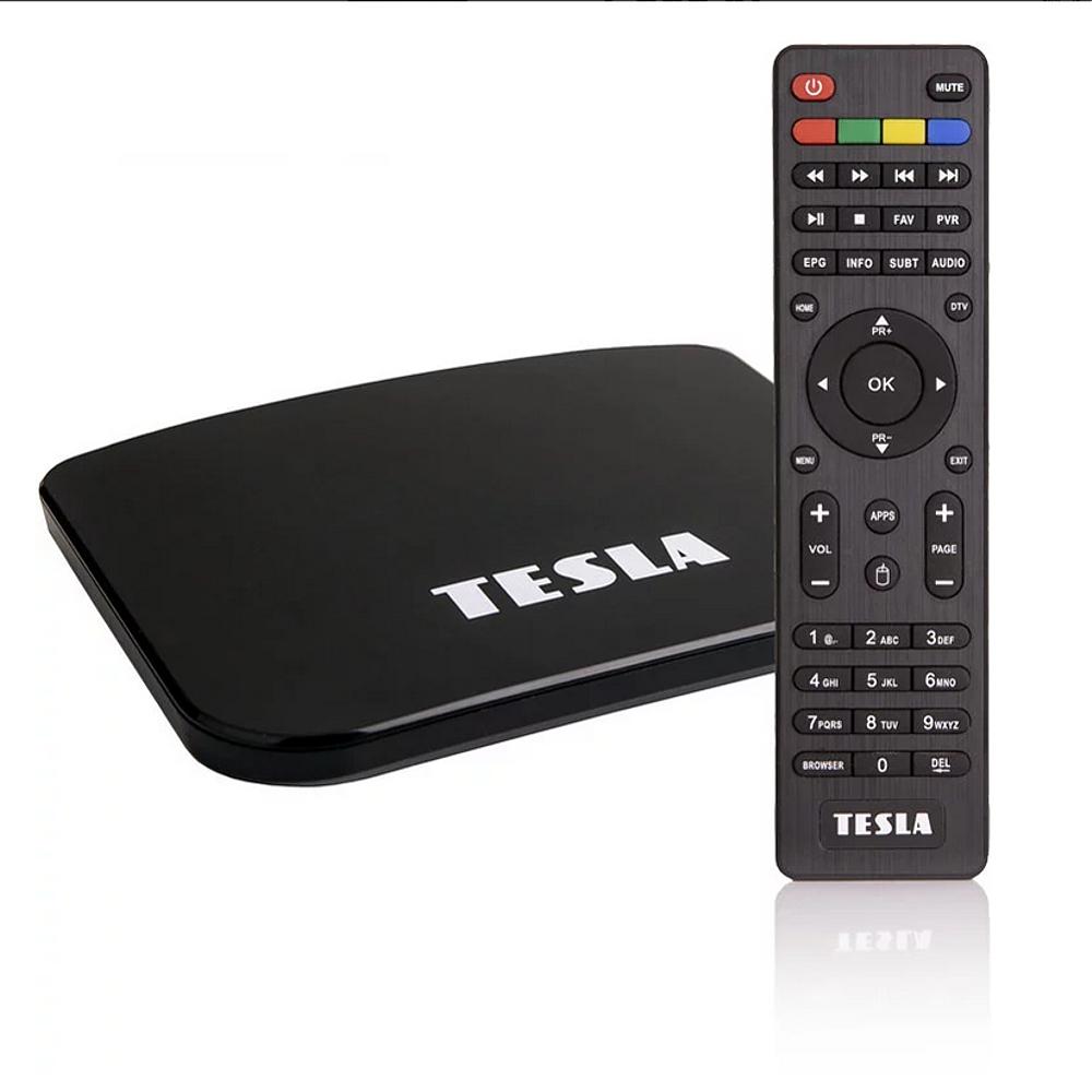 Představení přístroje Tesla TEH-500 DVB-T2