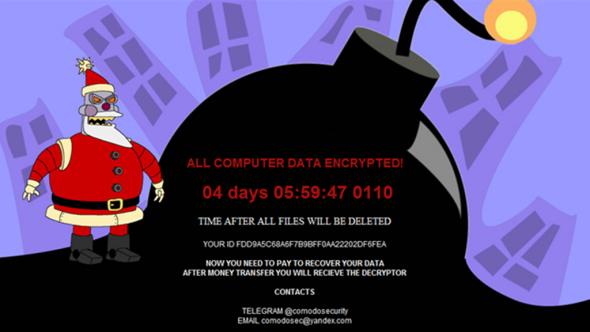 Veselé Vánoce aneb Jak ransomware zašifroval firmám zPrahy data před účetní uzávěrkou