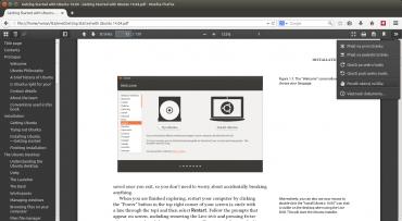 Firefox a o něco pokročilejší čtečka na bázi JavaScriptu