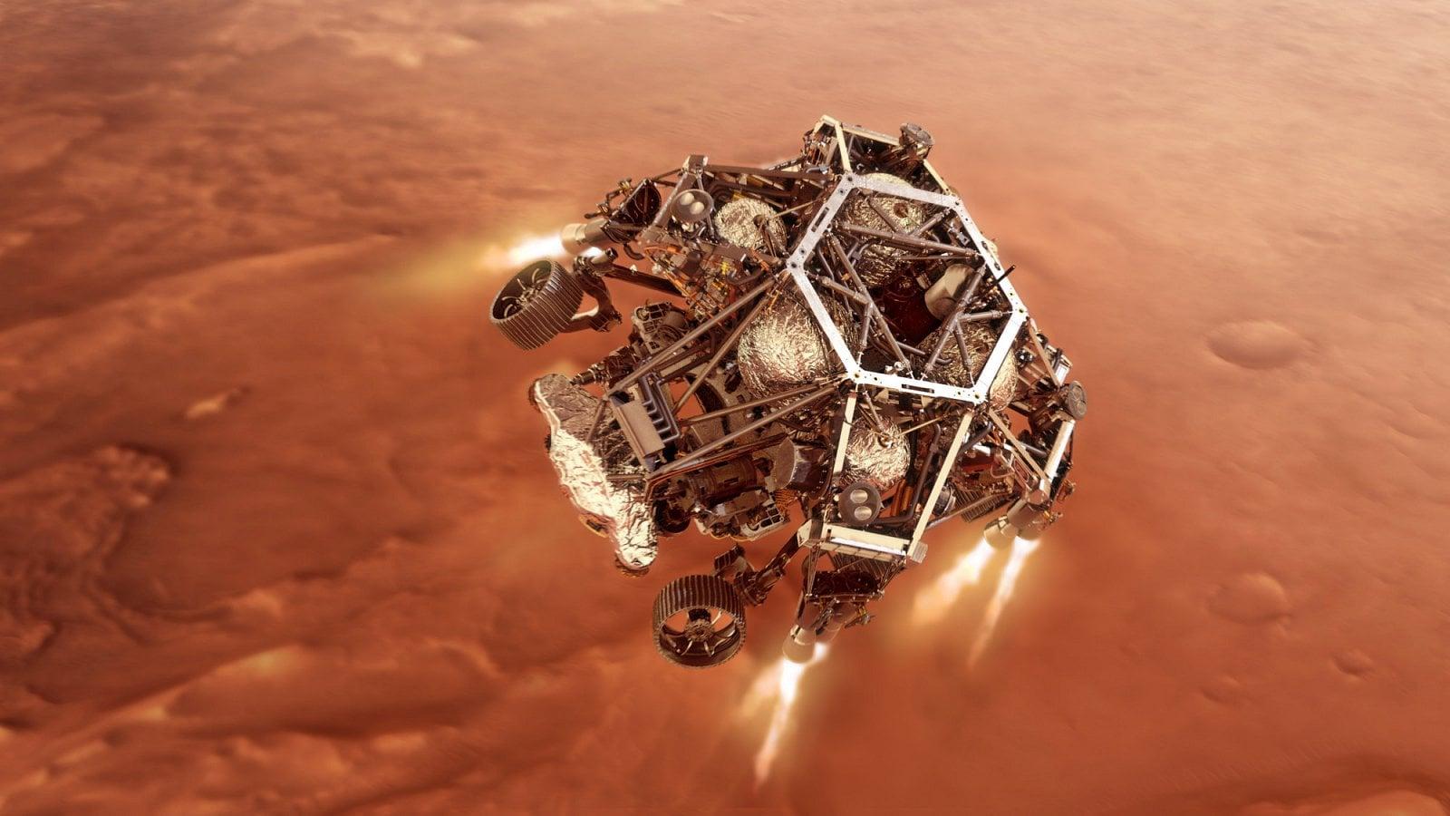NASA Perseverance na Marsu
