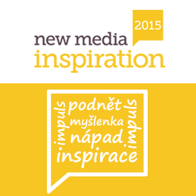 Logo New Media Inspiration 2015 - Digitalizace člověka