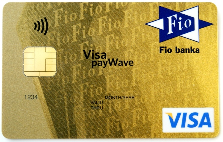 Platební karty Fio banky