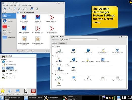 K Desktop Environment 4