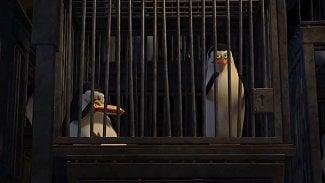 Tučňáci ve vězení