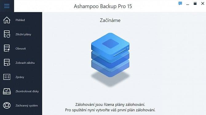 Ashampoo Backup Pro 15: Jak snadno zálohovat data