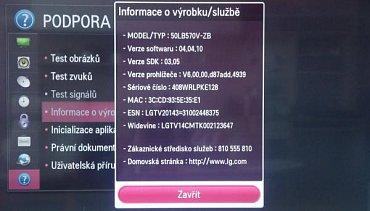 Televizor LG 50LB570V redakčního kolegy Lukáše Poláka postavený na platformě NetCast z roku 2014. Widget Netflixu pro region Česko mu byl zprovozněn zhruba v polovině ledna.