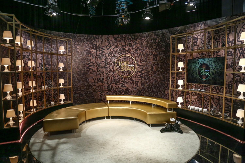 Nové studio a moderátorka Top Star magazínu