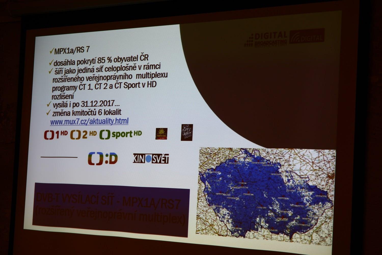 Prezentace Digital Broadcasting pro leden 2018