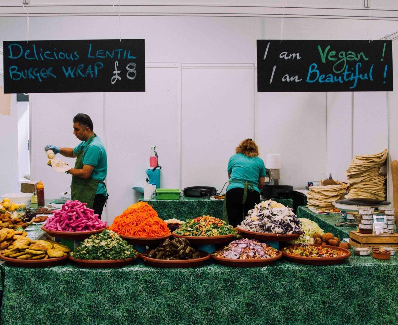 Veganský festival Veg Fest UK