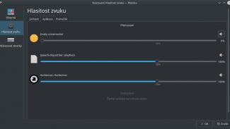 KDE Plasma / PulseAudio