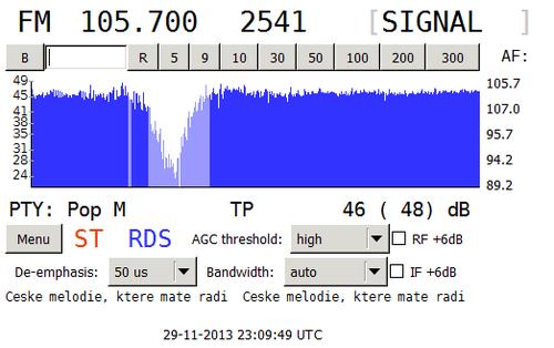 Nové RDS na mladoboleslavském kmitočtu 105.7 po startu rozhlasové stanice Rádio Signál